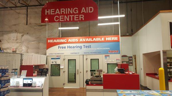 costco hearing center
