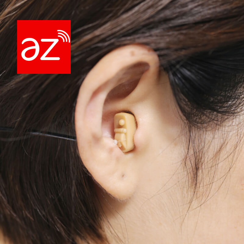 wear photo of Small In Ear Canal Hearing Aid~Perla
