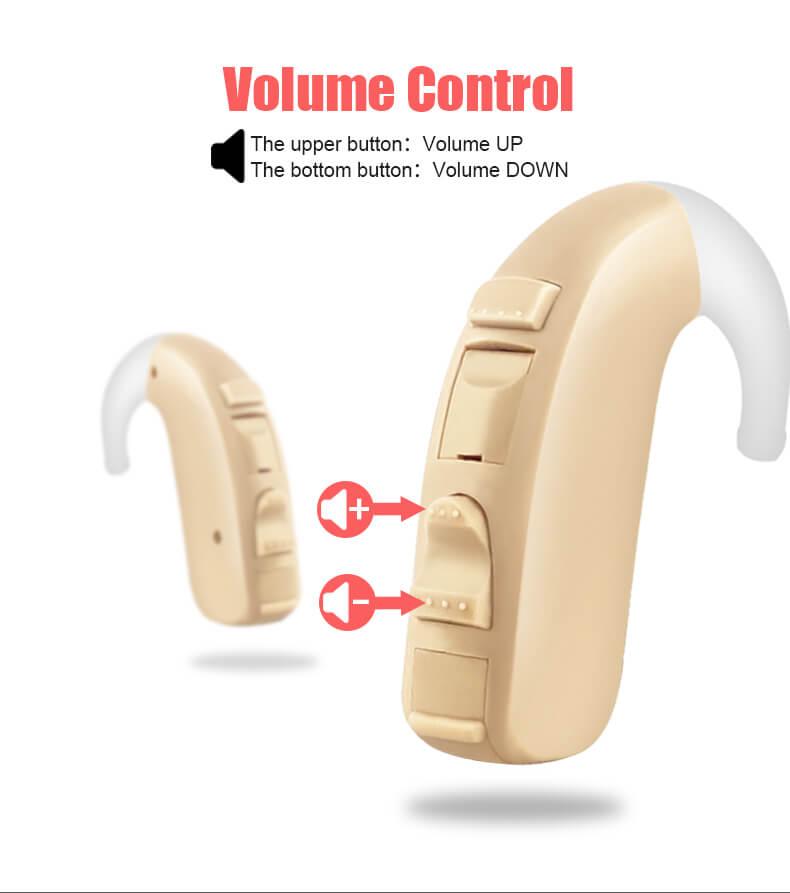 Voz-volume control