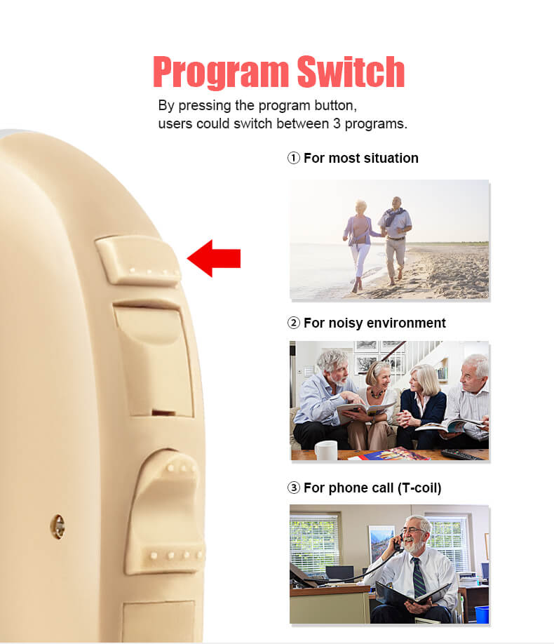 Voz -program switch
