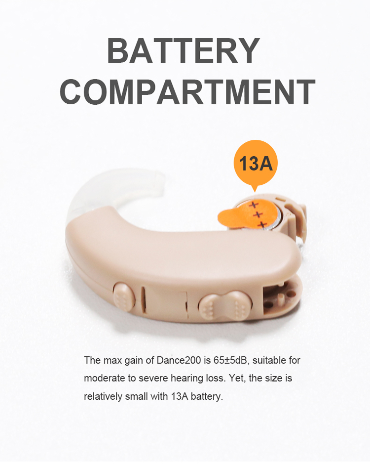 digital hearing aid amplifier-dance from Xiamen AZ Hearing