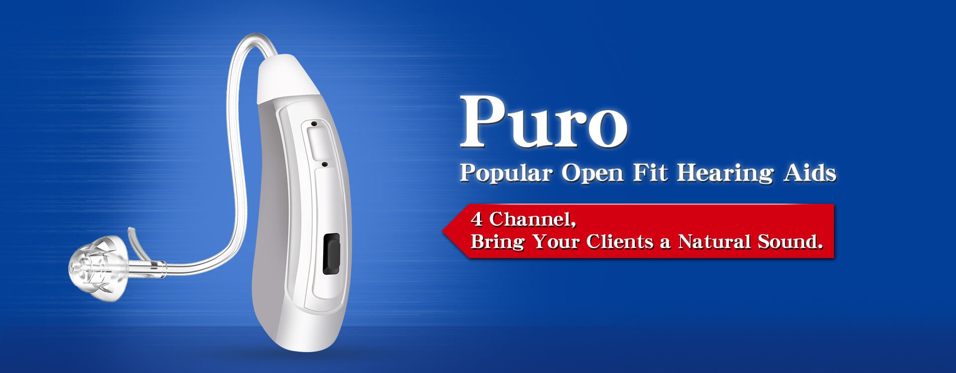 Puro 4 channel digital hearing aids